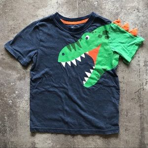 Carter's Dinosaur T Rex Bite Top 4 To 5 Years